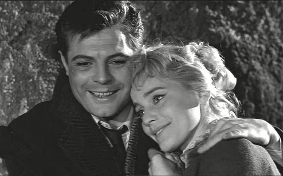 Mastroianni, Schell - Le notti bianche, regia di Luchino Visconti (1957)