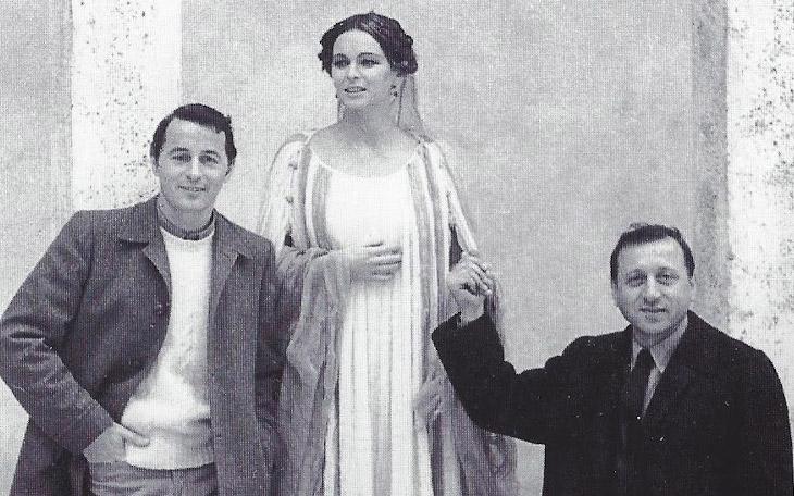 Piero tosi, Lucia Bosè e Danilo Donati
