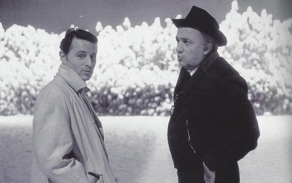 Piero Tosi e Federico Fellini