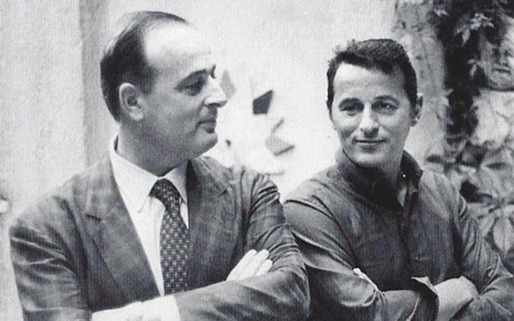 Tosi con Mauro Bolognini